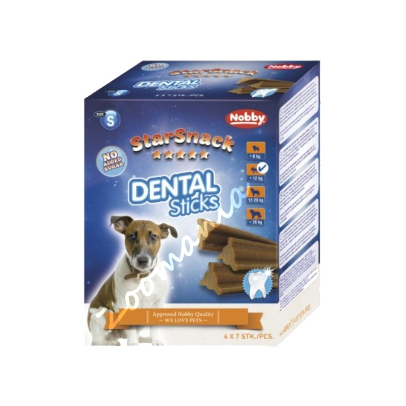 "Кучешко лакомство - StarSnack ""Dental Sticks"" - Small"