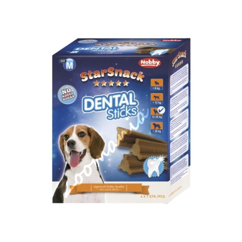 """Кучешко лакомство - StarSnack """"Dental Sticks"""" - Medium"""