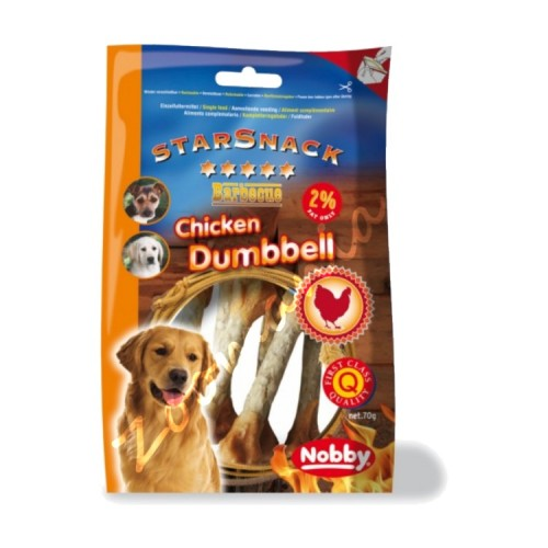 "StarSnack ""BBQ Chicken Dumbbell"""