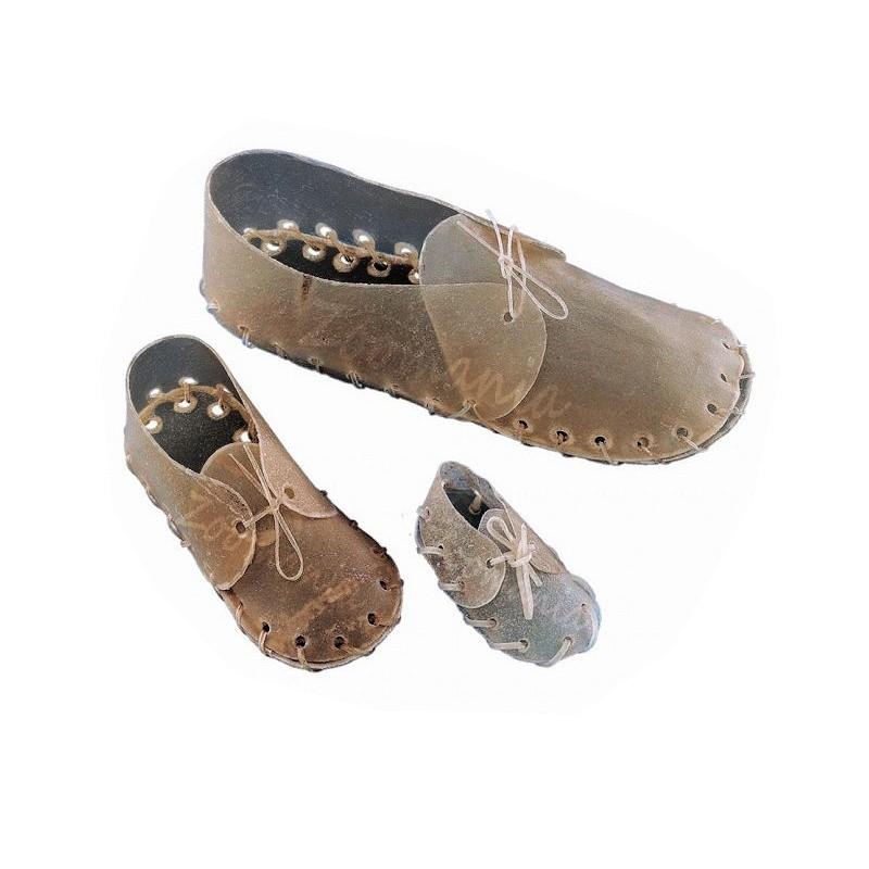 Кожени обувки за дъвчене