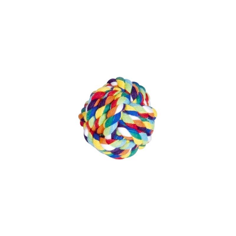 Шарена памучна топка за игра