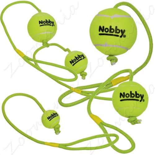Тенис топка с въже