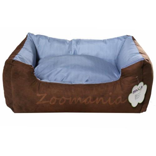 Велурено легло за кучета и котки