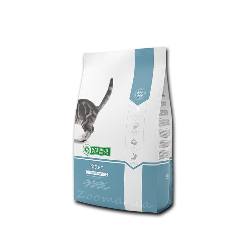 """Пълноценна храна за малки котета Nature's Protection """"Kitten"""" - 0.400 кг"""
