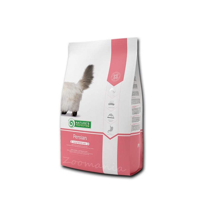 """Висок клас храна за дългокосмести котки Nature's Protection """"Cat Persian"""" - 0.400 кг"""