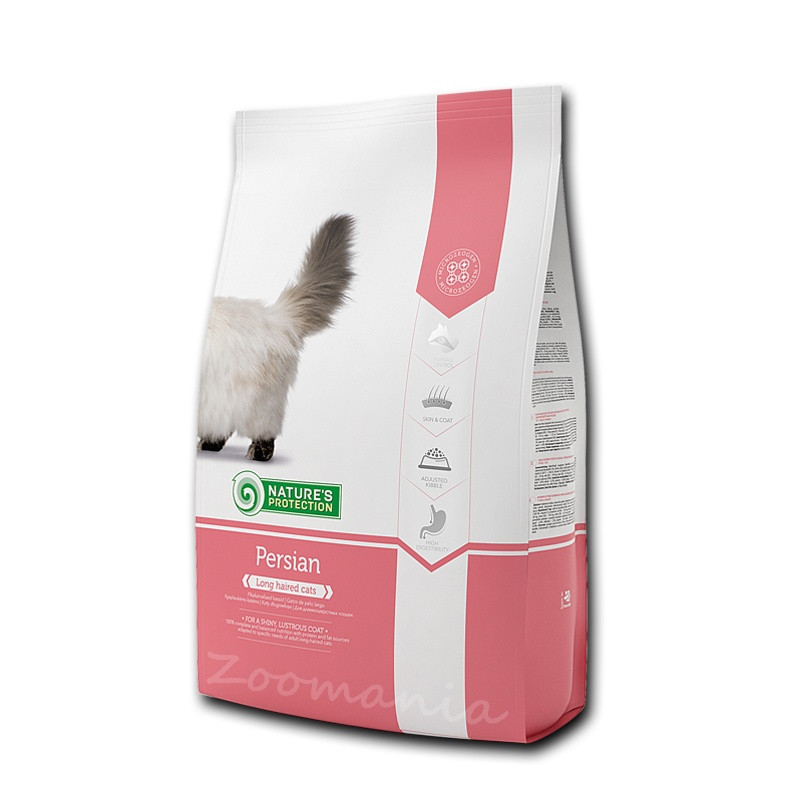 """Висок клас храна за дългокосмести котки Nature's Protection """"Cat Persian"""" - 2 кг"""