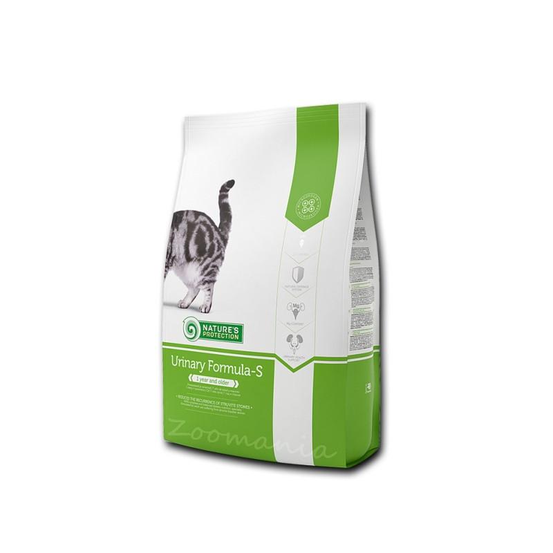 """Диетична храна за котки за камъни в пикочни мехур Nature's Protection """"Cat Urinary Formula-S"""" - 0.800 кг"""