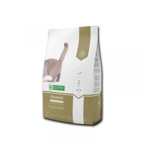 """Диетична храна за кастрирани котки Nature's Protection """"Cat Neutered"""" - 0.400 кг"""