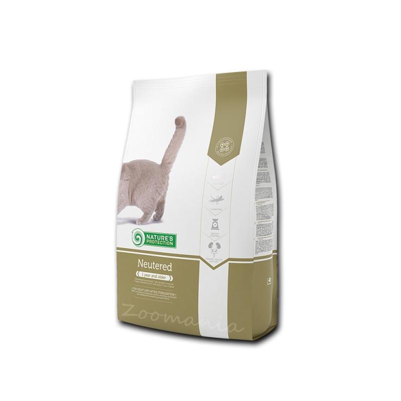 """Диетична храна за кастрирани котки Nature's Protection """"Cat Neutered"""" - 0.800 кг"""