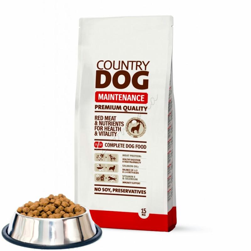 "Насипна суха храна за кучета ""Country Dog Maintenance"" - 0.500 кг от чувал"