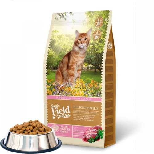 "Sam's Field ""Cat Delicious Wild"" - 0.100 кг от чувал"