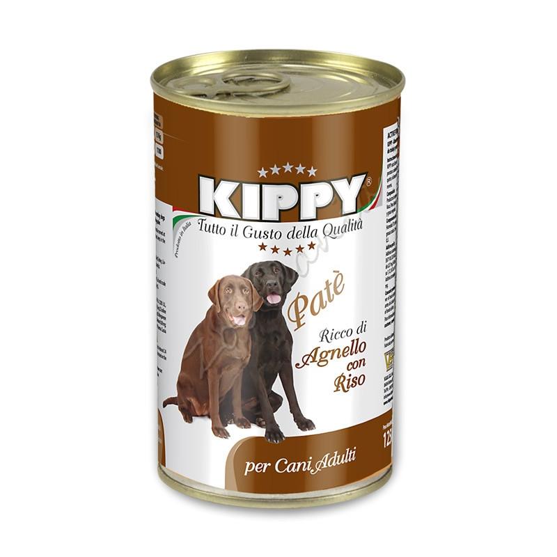 """Кучешка консерва с агнешко """"Kippy Paté con Agnello e Riso"""" - 1250 гр"""