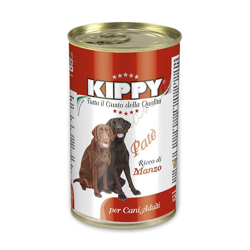 """Консерва за куче с говеждо месо """"Kippy Paté con Manzo"""" - 1250 гр"""