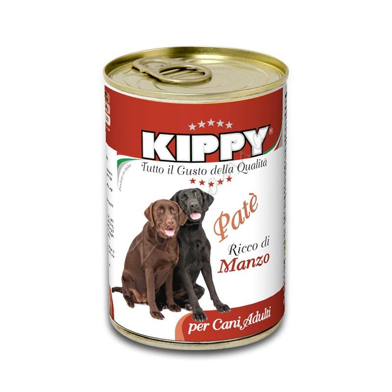 """Кучешка консерва с говеждо месо """"Kippy Paté con Manzo"""" - 400 гр"""