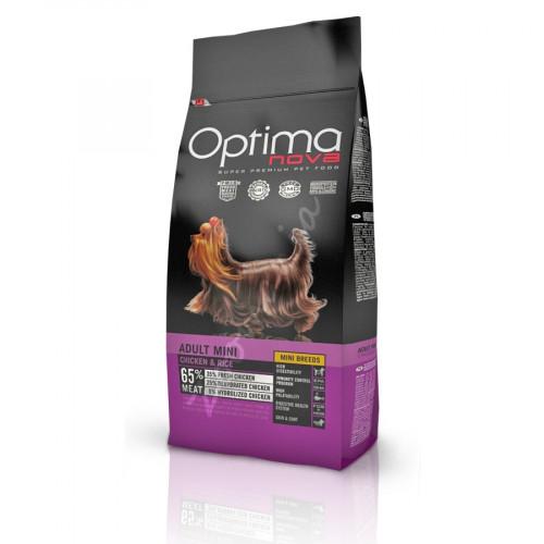 Optima Nova Dog Adult Mini Chicken & Rice - 800 гр
