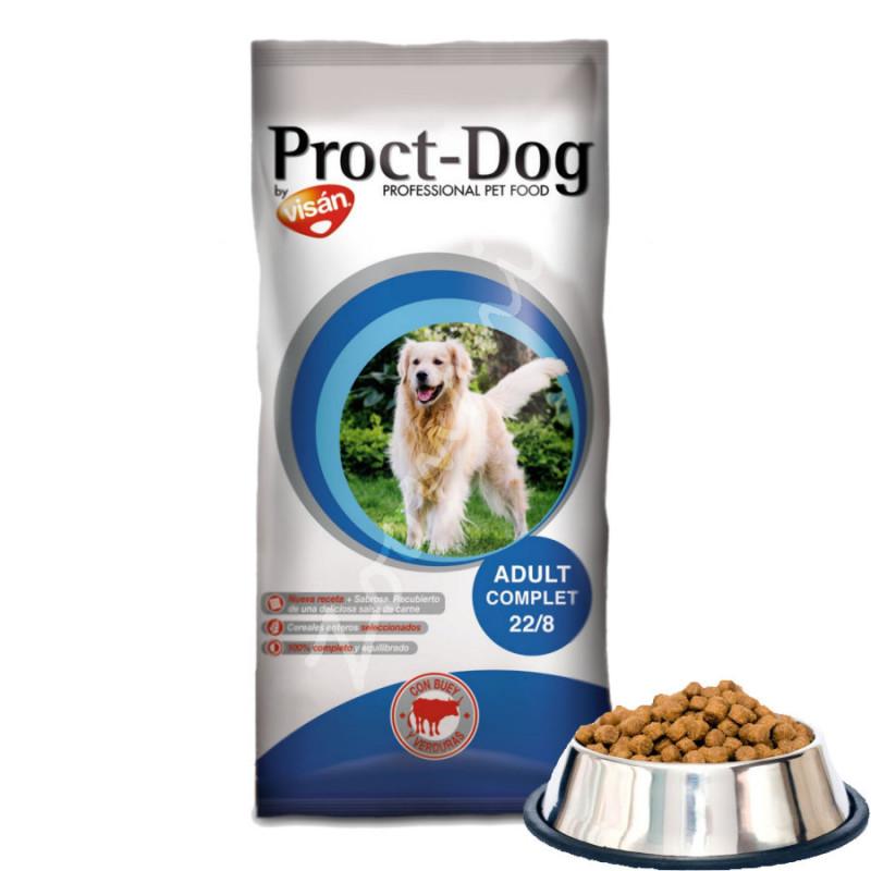Икономична храна за кучета Proct Dog Adult Complet 22/8 - 1 кг от чувал