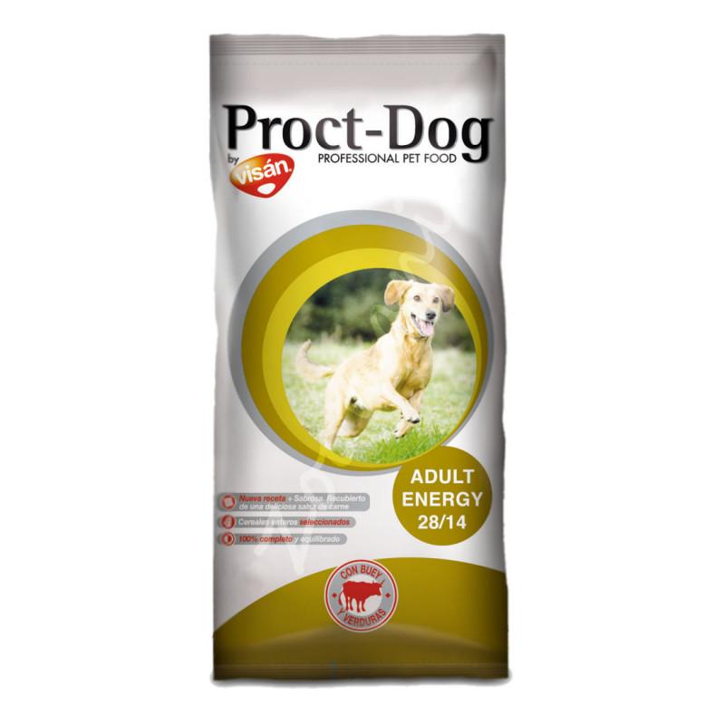 Икономична кучешка храна за работни породи Proct Dog Adult Energy 28/14 - 20 кг
