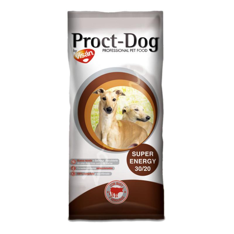 Икономична кучешка храна за работни породи Proct Dog Adult Super Energy 30/20 - 20 кг
