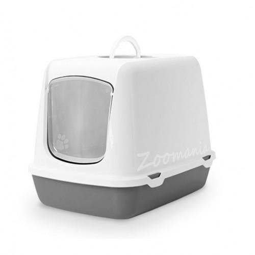 Закрита котешка тоалетна с филтър Оскар