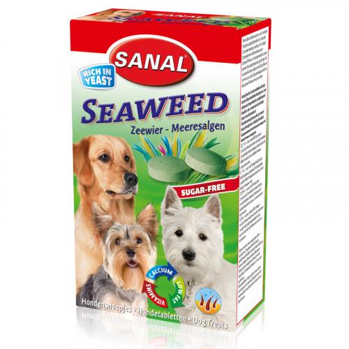 Хранителна добавка за кучета Sanal - Dog Seaweed - 100 гр.