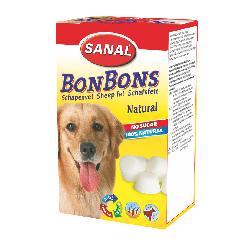 Кучешки бонбони - Sheep Fat BonBons Natural - 150 гр
