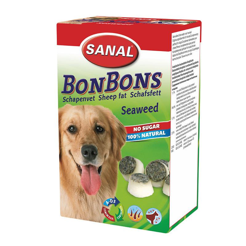 Вкусни кучешки бонбони Sheep Fat BonBons Seaweed - 150 гр