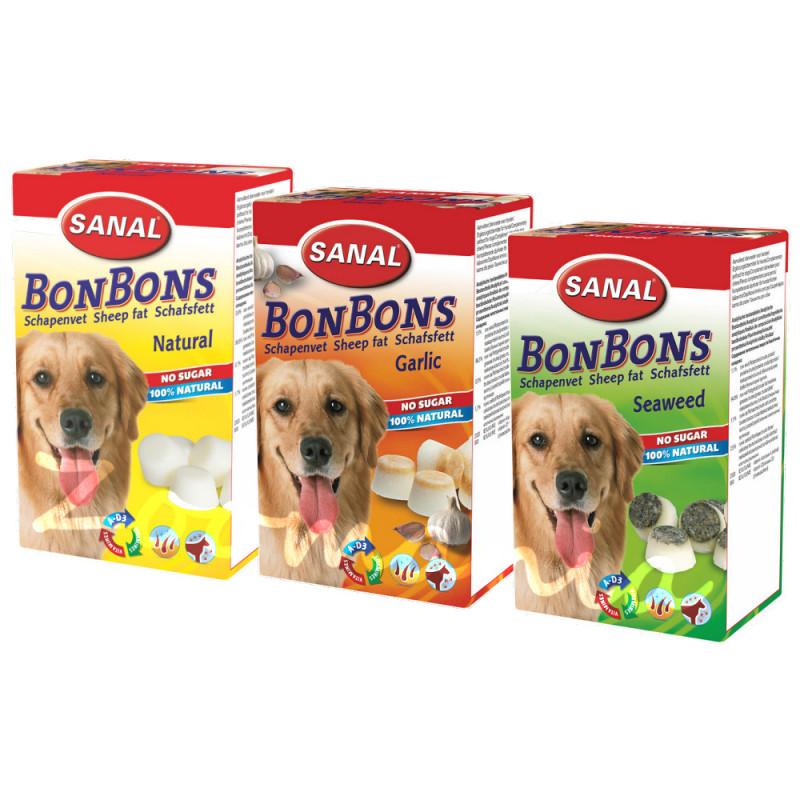 Вкусни натурални кучешки бонбони Sheep Fat BonBons 3 вкуса х 150 гр