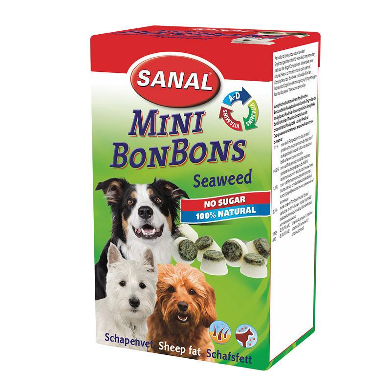 Вкусни и полезни кучешки бонбонки Sheep Fat Mini BonBons Seaweed - 150 гр