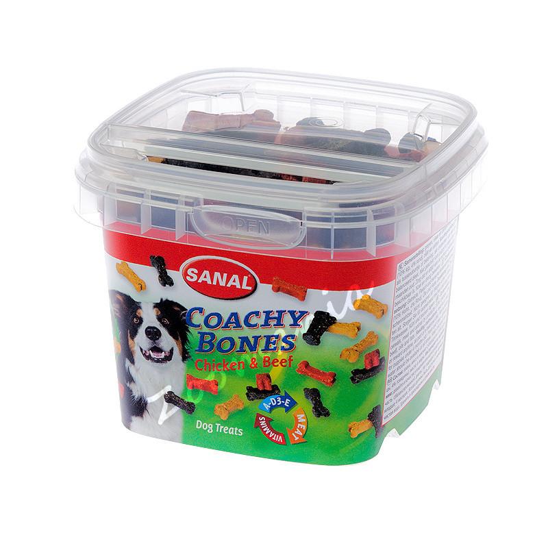 Тренировъчни кучешки бисквити Sanal Coachy Bones - 100 гр