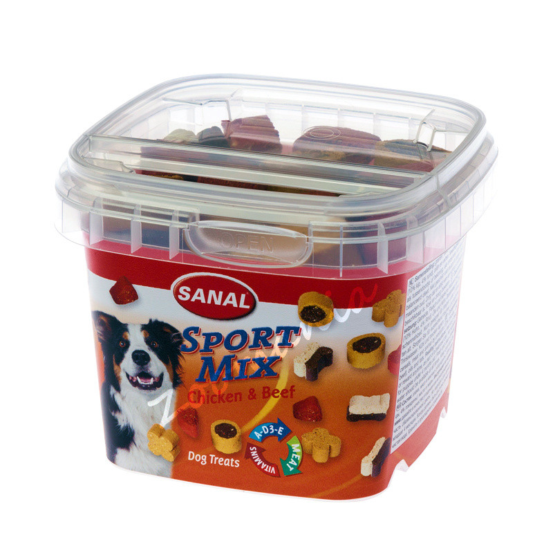 Бисквитки за активни кучета Sanal Sport Mix - 100 гр