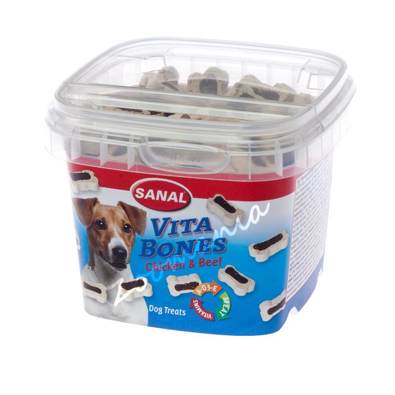 Тренировъчни кучешки бисквити Sanal Vita Bones - 100 гр