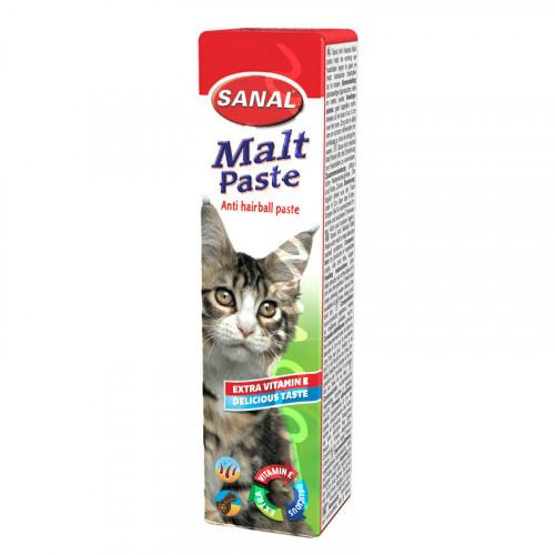 Sanal Malt Anti Hairball Paste - 20 гр