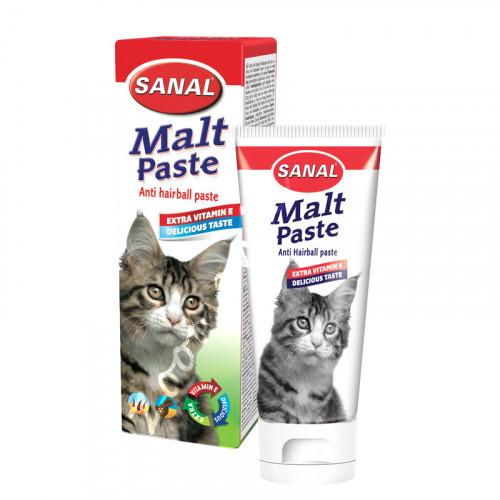 Sanal Malt Anti Hairball Paste - 100 гр