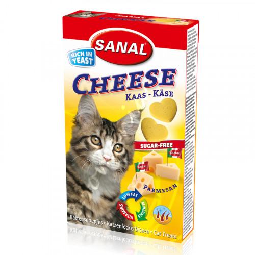 Витамини за котки с пармезан - Sanal Cat Vitamines Parmesan Cheese 30 гр