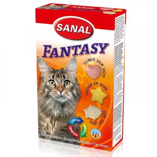 Sanal Витамини за котки Фентъзи Микс - 150 гр