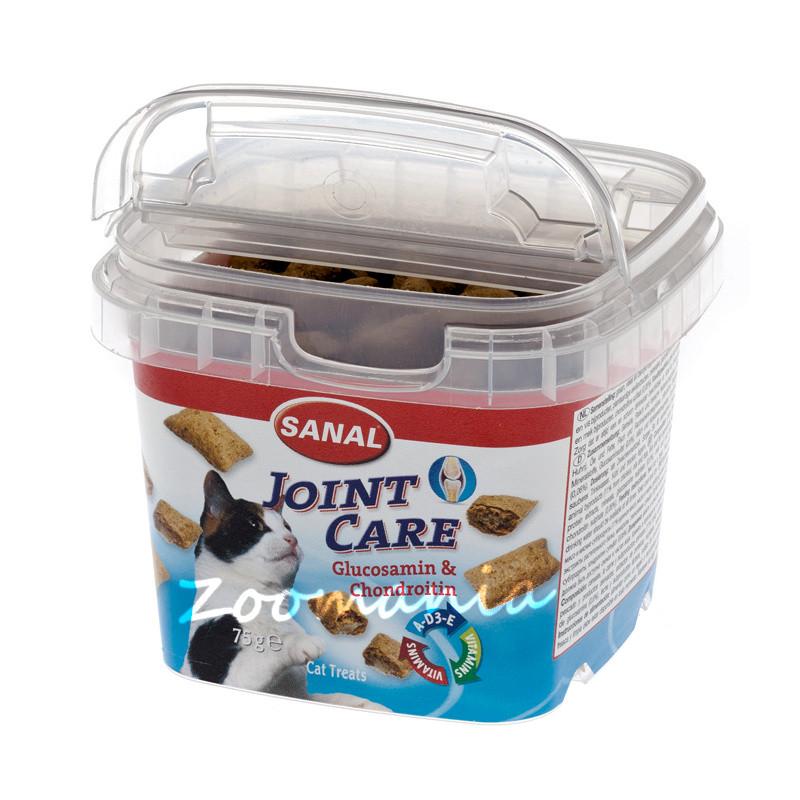 Лакомство за котки за здрави стави - Sanal Joint Care Bites - 75 гр