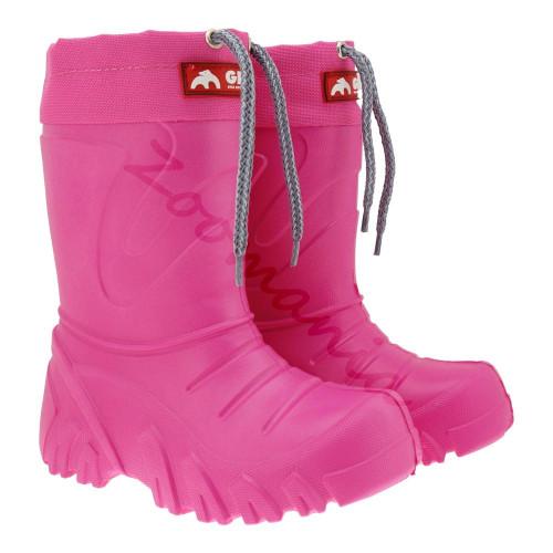 Детски ботуши за момичета Лемиго Гризли - розови