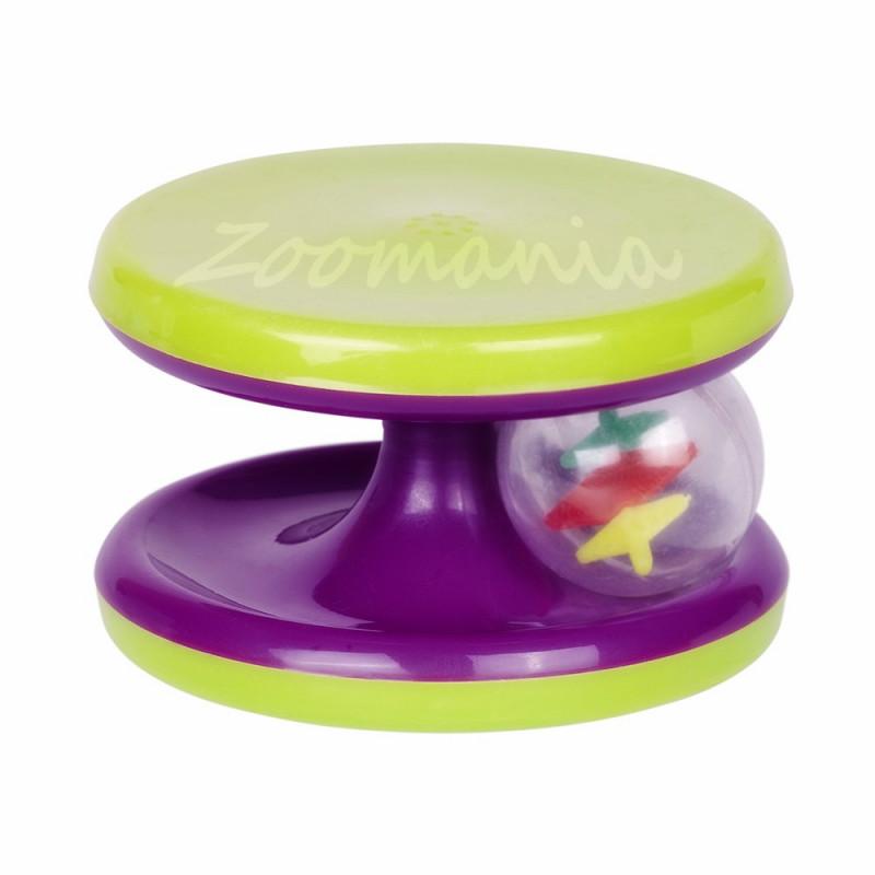 Играчка за коте - Ролер с топче и коча билка