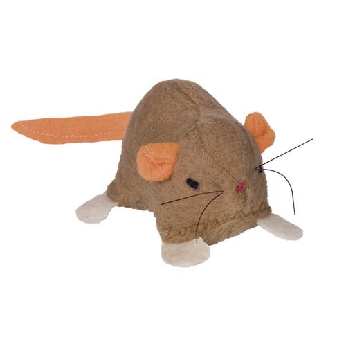 Плюшена мишка с коча билка