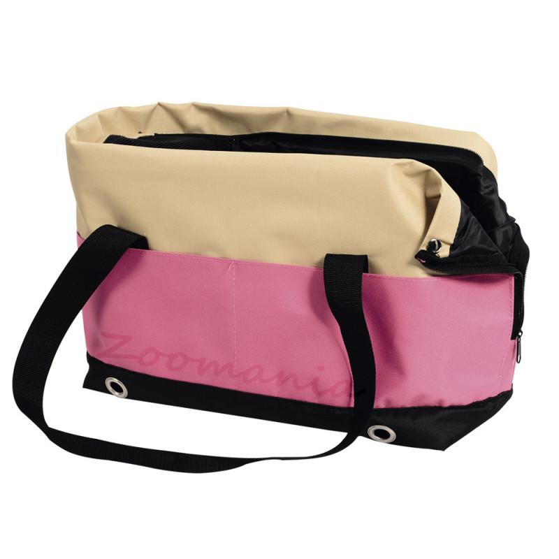"""Модерна чанта за транспорт на малко куче в самолет или кола """"Salta"""""""
