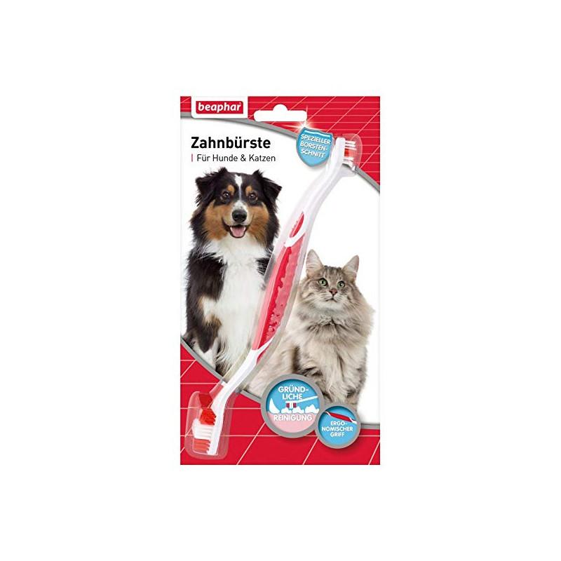 Кучешка четка за зъби подходяща и за котки