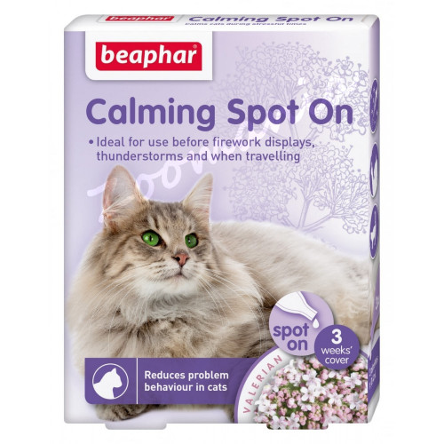 Успокояващи капки за котки - Beaphar Spot On