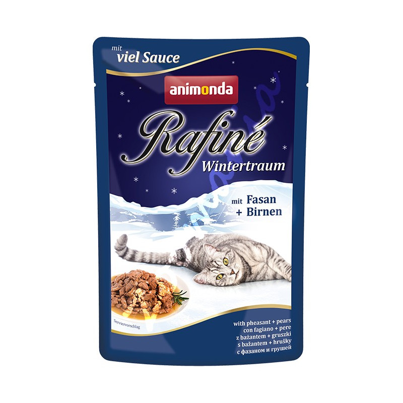Rafiné® Cat Adult - Качествена храна за котки с фазан и круши