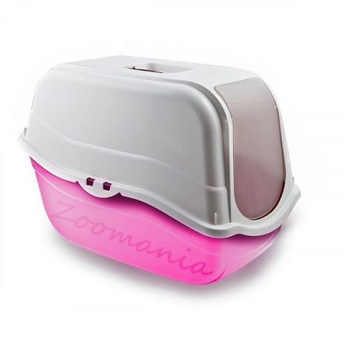Покрита котешка тоалетна с филтър от активен въглен - Romeo