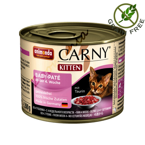 Carny® Kitten Baby Patè - 200 гр