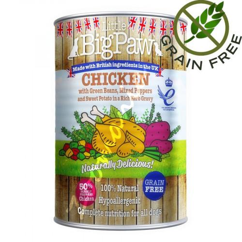 Little BigPaw Пилешко - 390 гр
