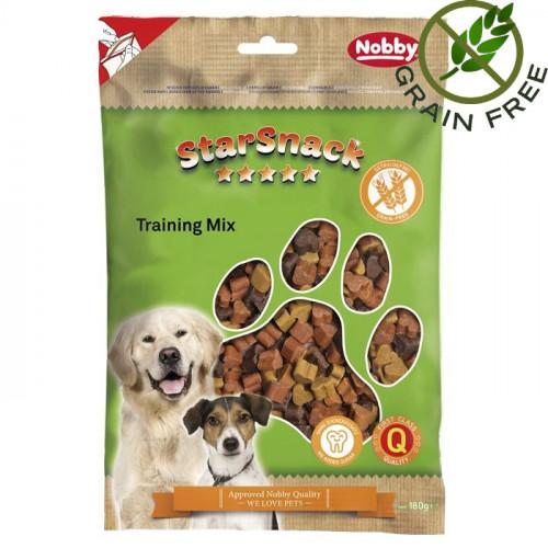"""Лакомство за кучета без глутен - Nobby StarSnack """"Training Mix"""" - 180 гр"""