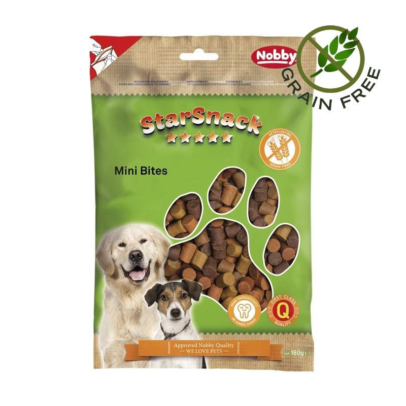 """Лакомство за кучета без глутен - Nobby StarSnack """"Mini Bites"""" - 180 гр"""