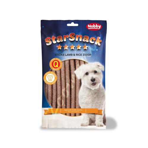 """Лакомство за кучета с агнешко и ориз StarSnack Sticks """"Lamb & Rice"""" - 200 гр"""
