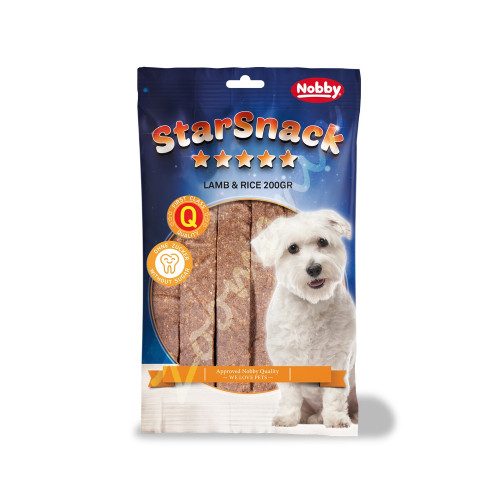 "StarSnack Strips ""Lamb & Rice"" - 20 бр."
